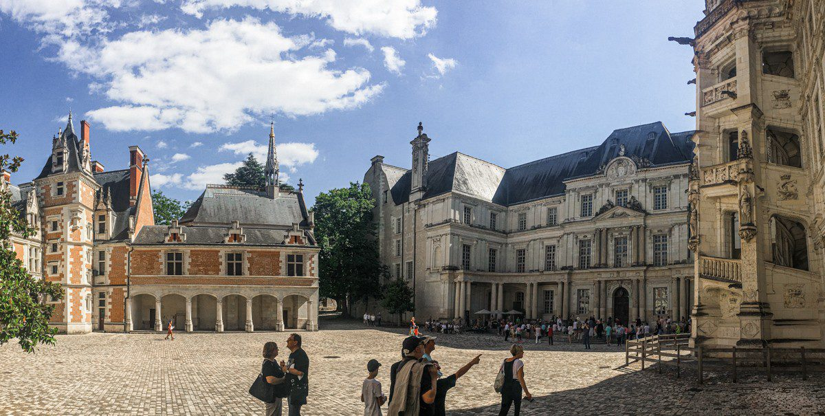 Loire Blois Purpurpurpur