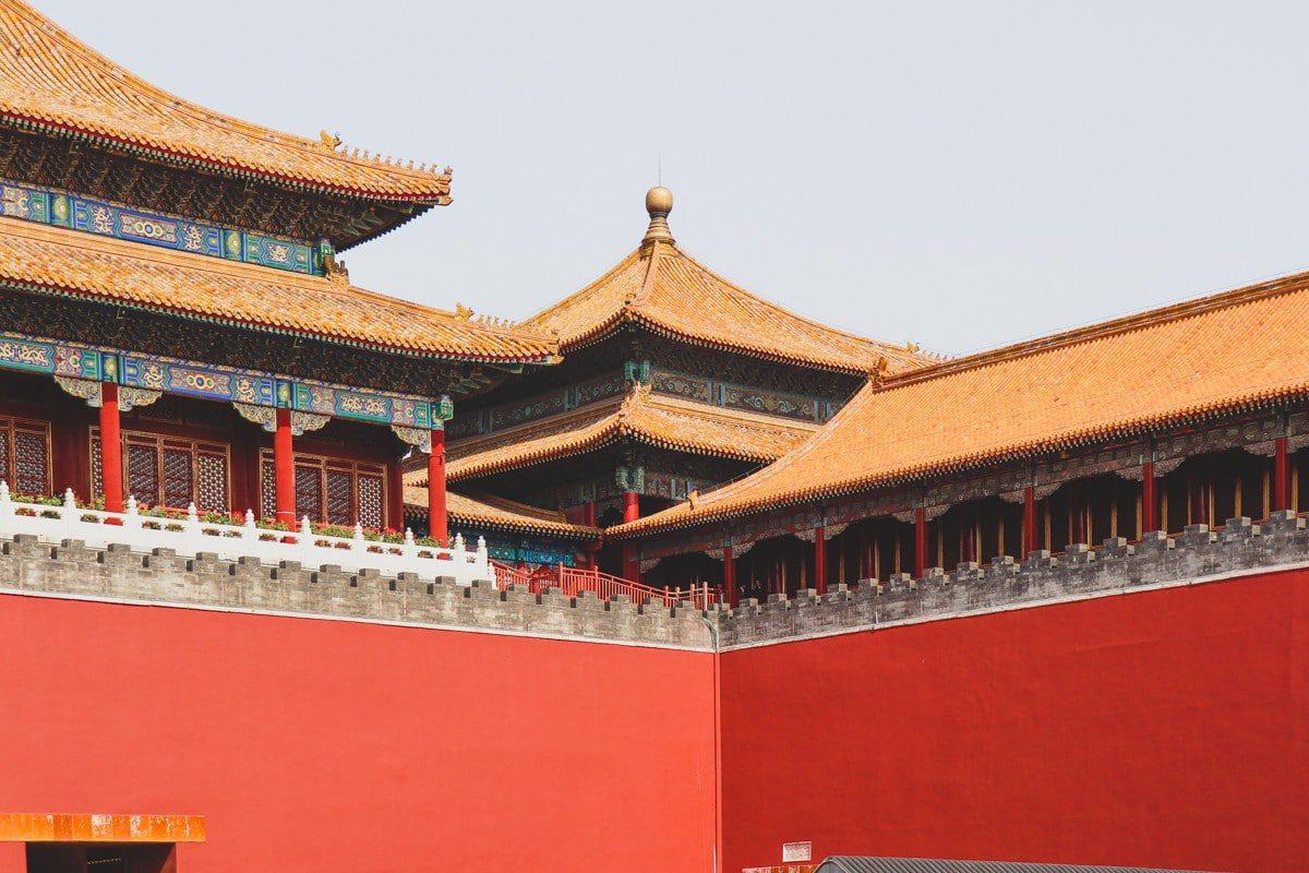 Forbidden city Purpurpurpur