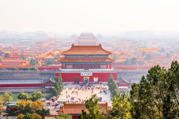 Forbidden city Purpurpurpur