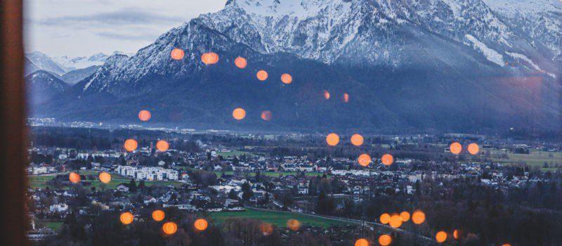 Salzburg Austria purpurpurpur
