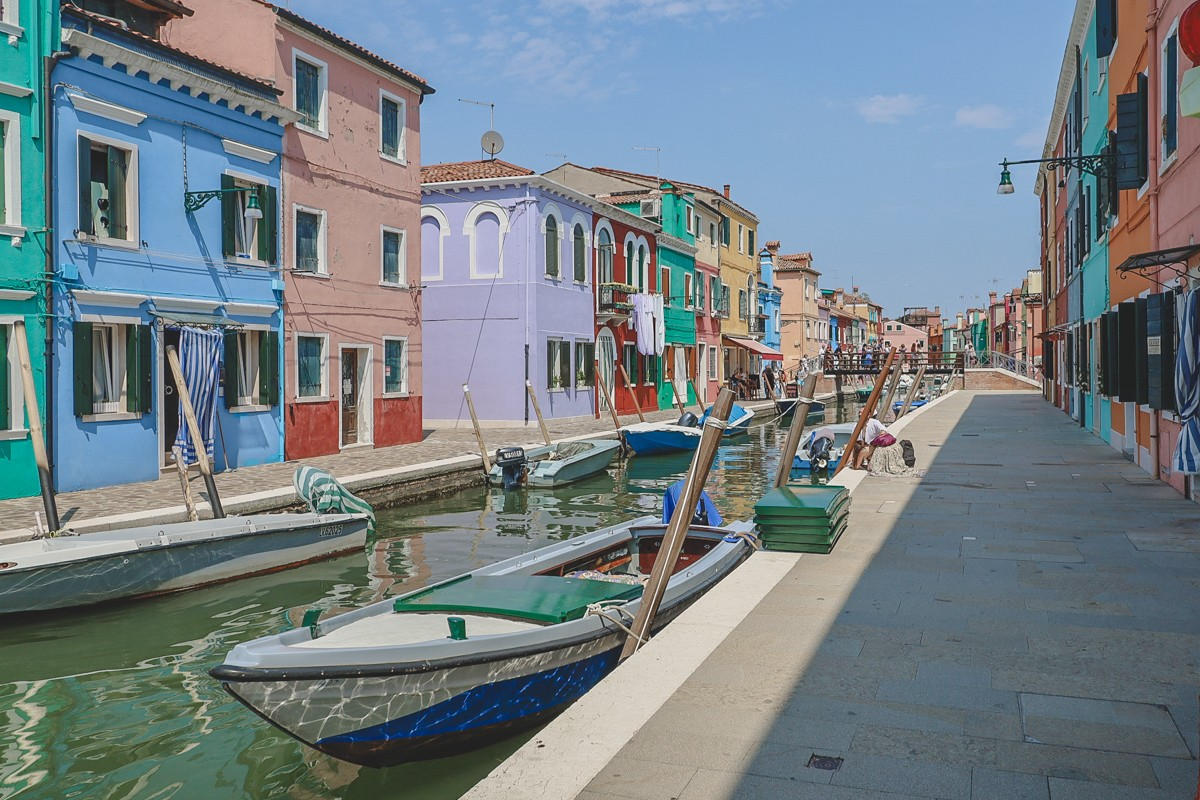 Burano Italy purpurpurpur