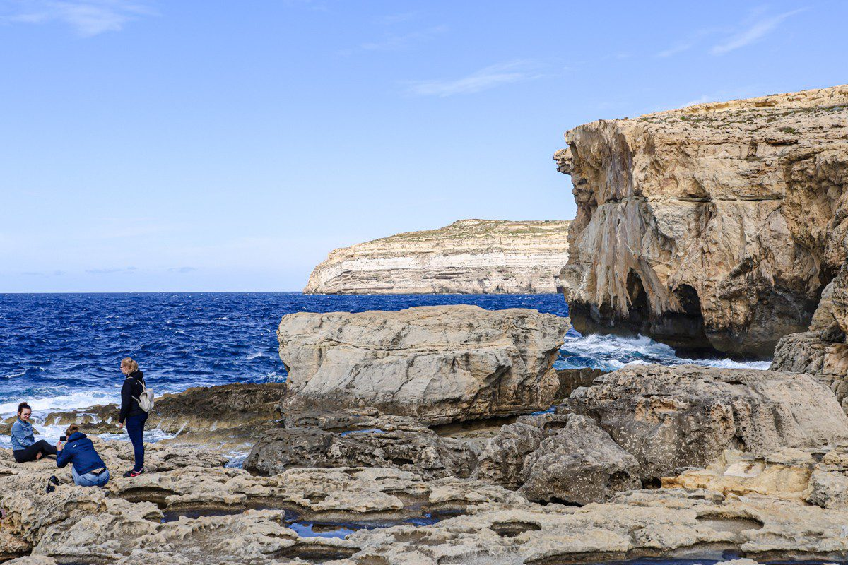Gozo Malta purpurpurpur